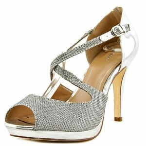 Style & Co silver shoes